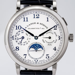 A. Lange & Sohne 1815 Annual Calendar White Gold 40mm (238.026) - Boston