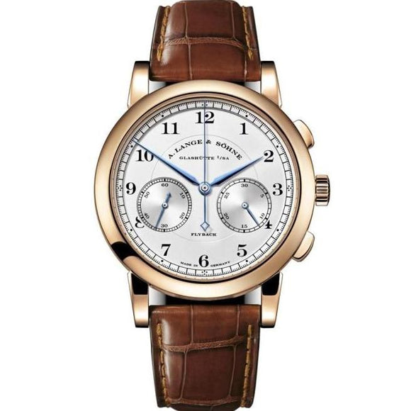 A. Lange & Sohne 1815 Chronograph Rose Gold (402.032) - Watches Boston