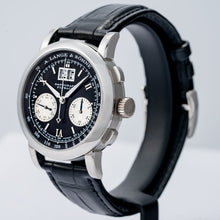 Load image into Gallery viewer, A. Lange & Sohne Datograph Black Dial Platinum 39mm (403.035) - Boston