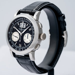 A. Lange & Sohne Datograph Black Dial Platinum 39mm (403.035) - Boston