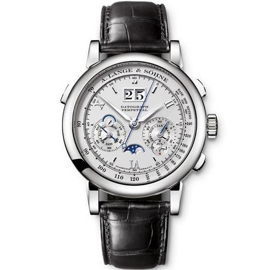 A. Lange & Sohne Datograph Perpetual Calendar Platinum 41Mm (410.025) - Watches Boston