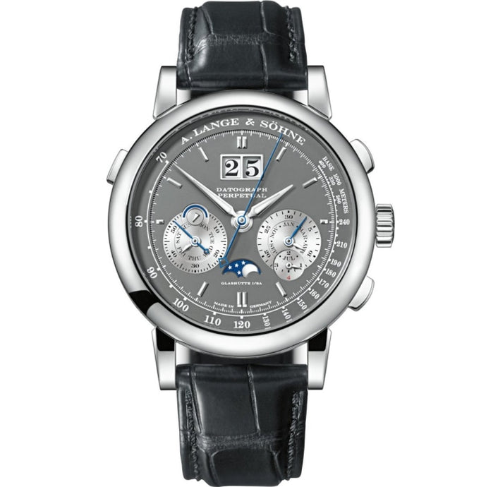 A. Lange & Sohne Datograph Perpetual White Gold (410.038E) - WATCHES Boston