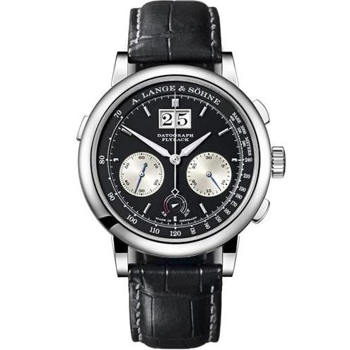 A. Lange & Sohne Datograph Up / Down Platinum (405.035) - Watches Boston