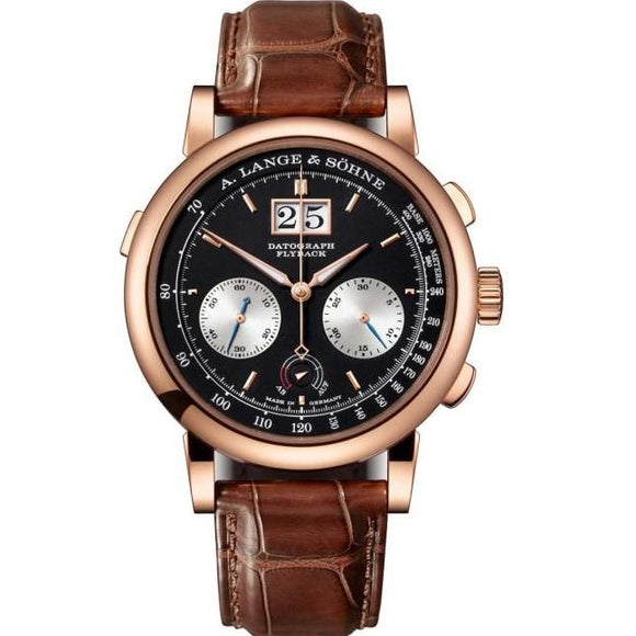 A. Lange & Sohne Datograph Up / Down Rose Gold (405.031) - Watches Boston