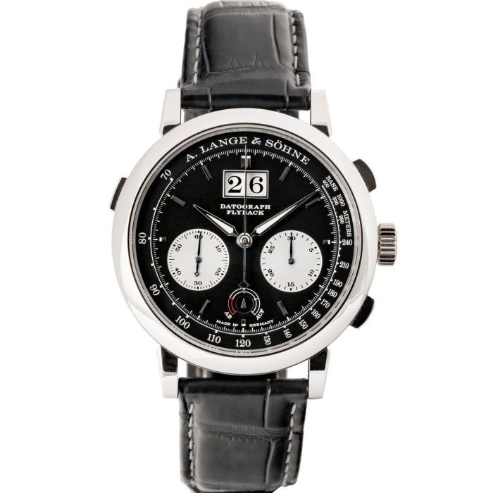 A. Lange & Söhne Datograph UP/DOWN Platinum 41mm (405.035) - MINT - WATCHES Boston