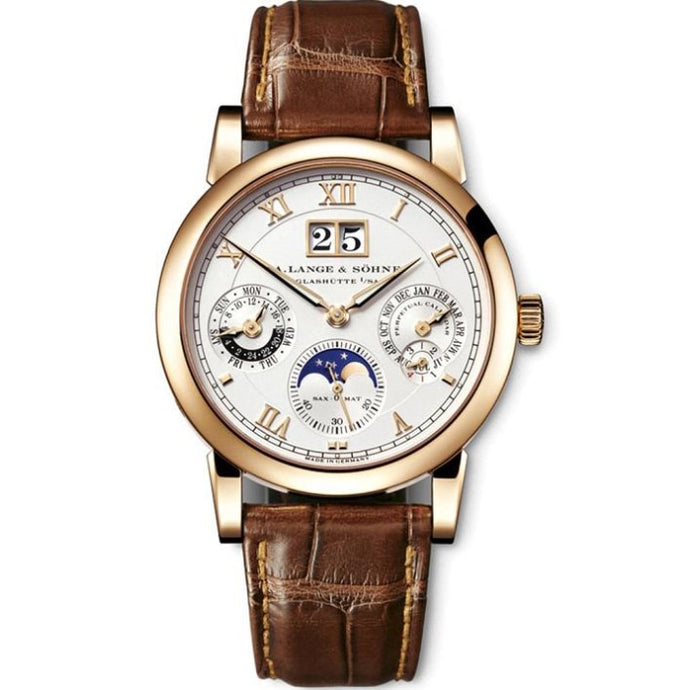 A. Lange & Sohne Langematik Perpetual Calender Rose Gold 39mm (310.032FE) - Boston