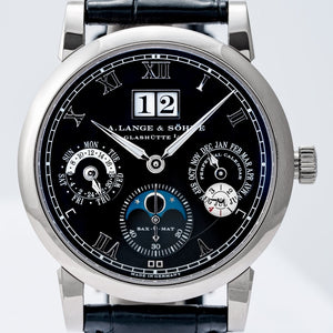 A. Lange & Söhne Langematik Perpetual White Gold Black Dial 39mm (310.026) - Boston