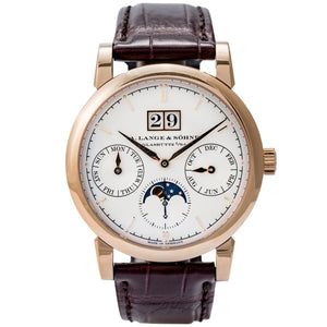 A. Lange & Sohne Saxonia Annual Calendar Rose Gold 38.5mm (330.032) - Boston