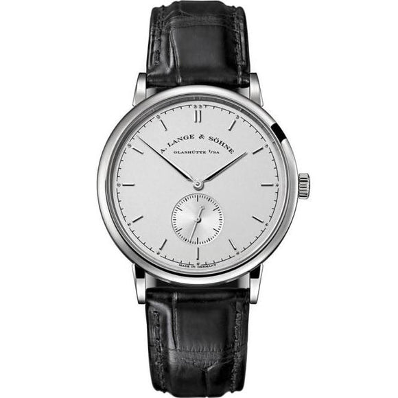 A. Lange & Sohne Saxonia Manual White Gold 37Mm (216.026) - Watches Boston