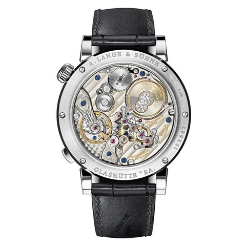 A. Lange & Sohne Zeitwerk Striking Time White Gold (140.029) - Watches Boston