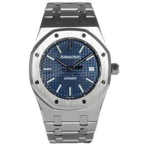 Audemars Piguet Royal Oak Stainless Steel 39 Blue (15300ST.OO.1220ST.02) - Boston
