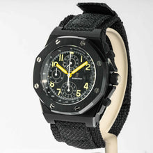Load image into Gallery viewer, Audemars Piguet End of Days Royal Oak Offshore Chronograph Black PVD Stainless Steel 42mm (25770SN.OO.0009KE.01) - Boston