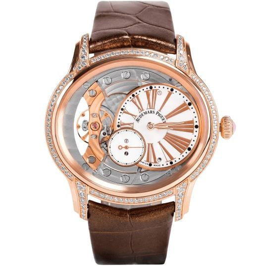 Audemars Piguet Ladies Millenary Rose Gold (77247Or.zz.a812Cr.01) - Watches Boston