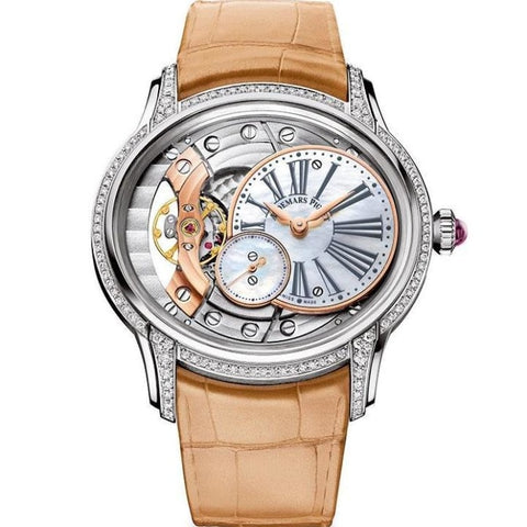 Audemars Piguet Ladies Millenary White Gold (77247Bc.zz.a813Cr.01) - Watches Boston