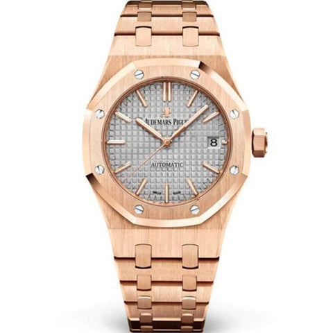 Audemars Piguet Royal Oak Automatic 37Mm Rose Gold (15450Or.oo.1256Or.01) - Watches Boston