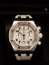 Load image into Gallery viewer, Audemars Piguet Royal Oak Chronograph 37Mm Stainless Ladies W/ Diamonds (26048Sk.zz.d010Ca.01) - Watches Boston