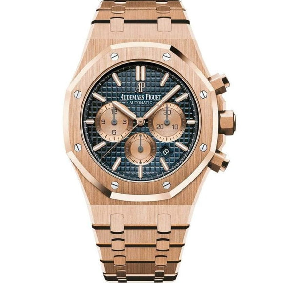 Audemars Piguet Royal Oak Chronograph 41Mm Rose Gold (26331Or.oo.1220Or.01) - Watches Boston