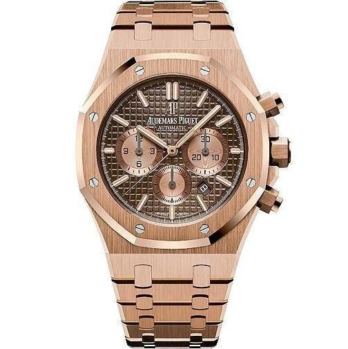 Audemars Piguet Royal Oak Chronograph 41Mm Rose Gold (26331Or.oo.1220Or.02) - Watches Boston