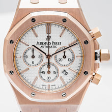 Load image into Gallery viewer, Audemars Piguet Royal Oak Chronograph Rose Gold Silver Dial 41mm (26320OR.OOD088CR.01) - Boston
