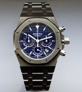 Audemars Piguet Royal Oak Chronograph Stainless Steel 39Mm (25860St.00.1110St.03) - Watches Boston