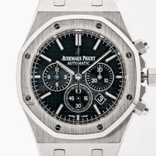 Load image into Gallery viewer, Audemars Piguet Royal Oak Chronograph Stainless Steel Black Dial 41mm (26320ST.OO.1220ST.01) - Boston