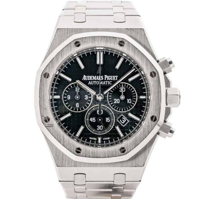 Audemars Piguet Royal Oak Chronograph Stainless Steel Black Dial 41mm (26320ST.OO.1220ST.01) - Boston
