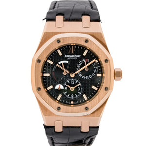 Audemars Piguet Royal Oak Dual Time Rose Gold 39Mm (26120Or.oo.d002Cr.01) - Boston
