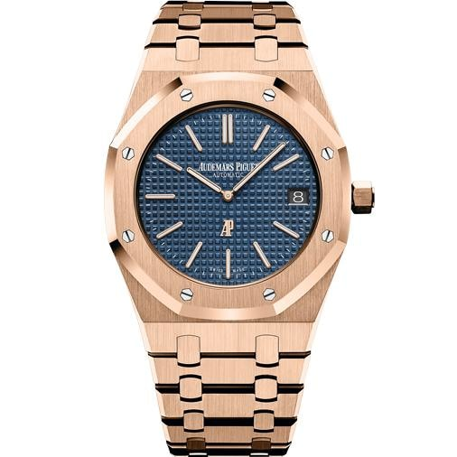 Audemars Piguet Royal Oak Extra Thin 39Mm Jumbo (15202Or.oo.1240Or.01) - Watches Boston