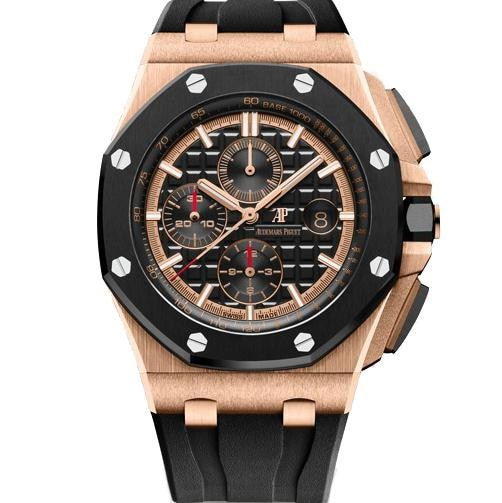 Audemars Piguet Royal Oak Offshore Chronograph 18K Rose Gold (26401Ro.oo.a002Ca.02) - Watches Boston
