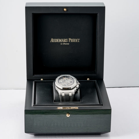 Audemars Piguet Royal Oak Offshore Chronograph Elephant Stainless Steel 42mm (26470ST.OO.A104CR.01) - Boston