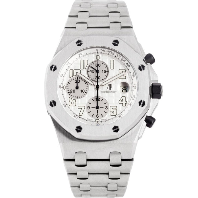 Audemars Piguet Royal Oak Offshore Chronograph Stainless Steel 42mm (25721ST.OO.1000ST.07.A) - WATCHES Boston