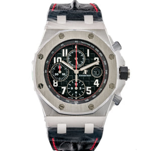 Audemars Piguet Royal Oak Offshore Chronograph Stainless Steel 42Mm (26470St.oo.a101Cr.01) - Unworn Bnib - Boston