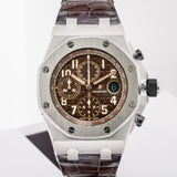 Audemars Piguet Royal Oak Offshore Chronograph Stainless Steel 42Mm (26470St.oo.a820Cr.01) - Unworn Bnib - Boston