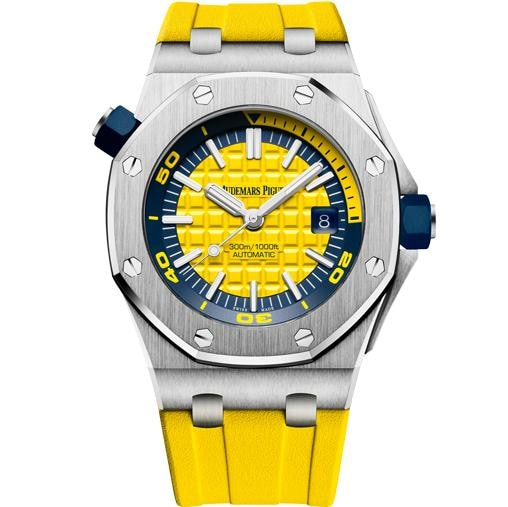 Audemars Piguet Royal Oak Offshore Diver Lemon (15710St.oo.a051Ca.01) - Watches Boston