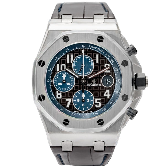 Audemars Piguet Royal Oak Offshore Havana Chronograph Stainless Steel 42mm (26470ST.OO.A099CR.01) - MINT - Boston