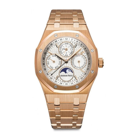Audemars Piguet Royal Oak Perpetual Calendar 41Mm Rose Gold (26574Or.oo.1220Or.01) - Watches Boston