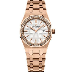 Audemars Piguet Royal Oak Quartz 33Mm Ladies (67651Or.zz.1261Or.01) - Watches Boston
