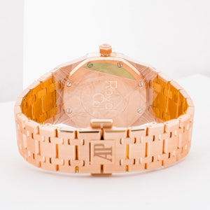 Audemars Piguet Royal Oak Rose Gold 33mm (67651OR.ZZ.1261OR.01) - UNWORN BNIB - Boston