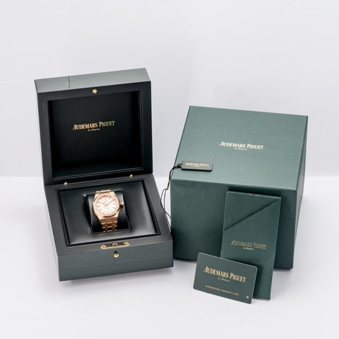 Audemars Piguet Royal Oak Rose Gold 37mm (15451OR.ZZ.1256OR.01) - UNWORN BNIB - Boston