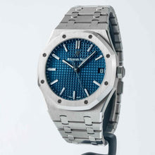 Load image into Gallery viewer, Audemars Piguet Royal Oak Self-winding Stainless Steel Blue Dial 41mm (15500ST.OO.1220ST.01) - Boston