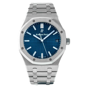 Audemars Piguet Royal Oak Self-winding Stainless Steel Blue Dial 41mm (15500ST.OO.1220ST.01) - Boston