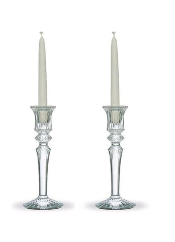 Baccarat Mille Nuits Candlesticks Set Of 2 - Home & Decor Boston