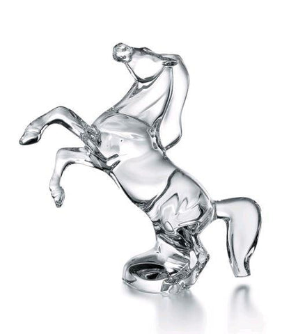 Baccarat Rearing Horse - Home & Decor Boston