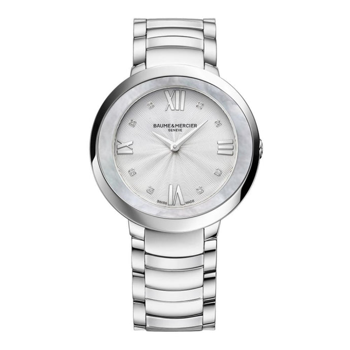 Baume & Mecier Promesse 34mm Stainess Steel (10178) - WATCHES Boston