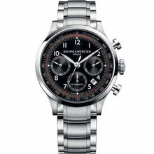 Load image into Gallery viewer, Baume & Mercier Capeland Chronograph 42Mm Stainless Steel (10062) - Watches Boston