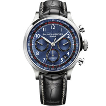 Load image into Gallery viewer, Baume & Mercier Capeland Chronograph 42mm Stainless Steel (10065) - WATCHES Boston