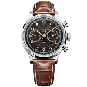 Baume & Mercier Capeland Flyback Chronograph 44Mm Stainless Steel (10068) - Watches Boston