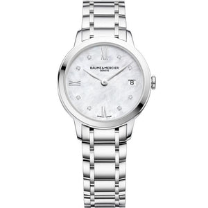 Baume & Mercier Classima 31Mm Stainless Steel 31Mm (10326) - Watches Boston