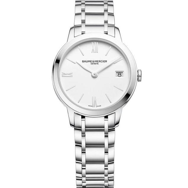 Baume & Mercier Classima 31Mm Stainless Steel (10335) - Watches Boston