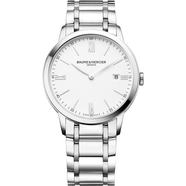 Baume & Mercier Classima 40Mm Stainless Steel (10354) - Watches Boston
